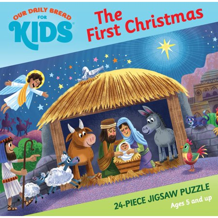 The First Christmas 24-Piece Jigsaw Puzzle (Other) - Halloween Puzzles For 1st Grade