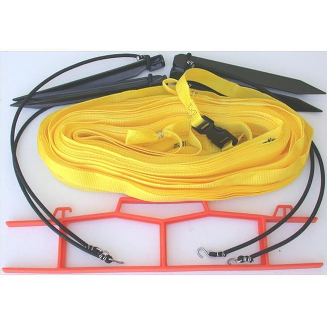 Home Court M8W25YS 8 Meter Yellow 1-inch Non-adjustable Web Courtlines