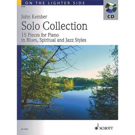 Schott Solo Collection (15 Pieces for Piano in Blues, Spiritual and Jazz Styles) Schott Series Softcover with