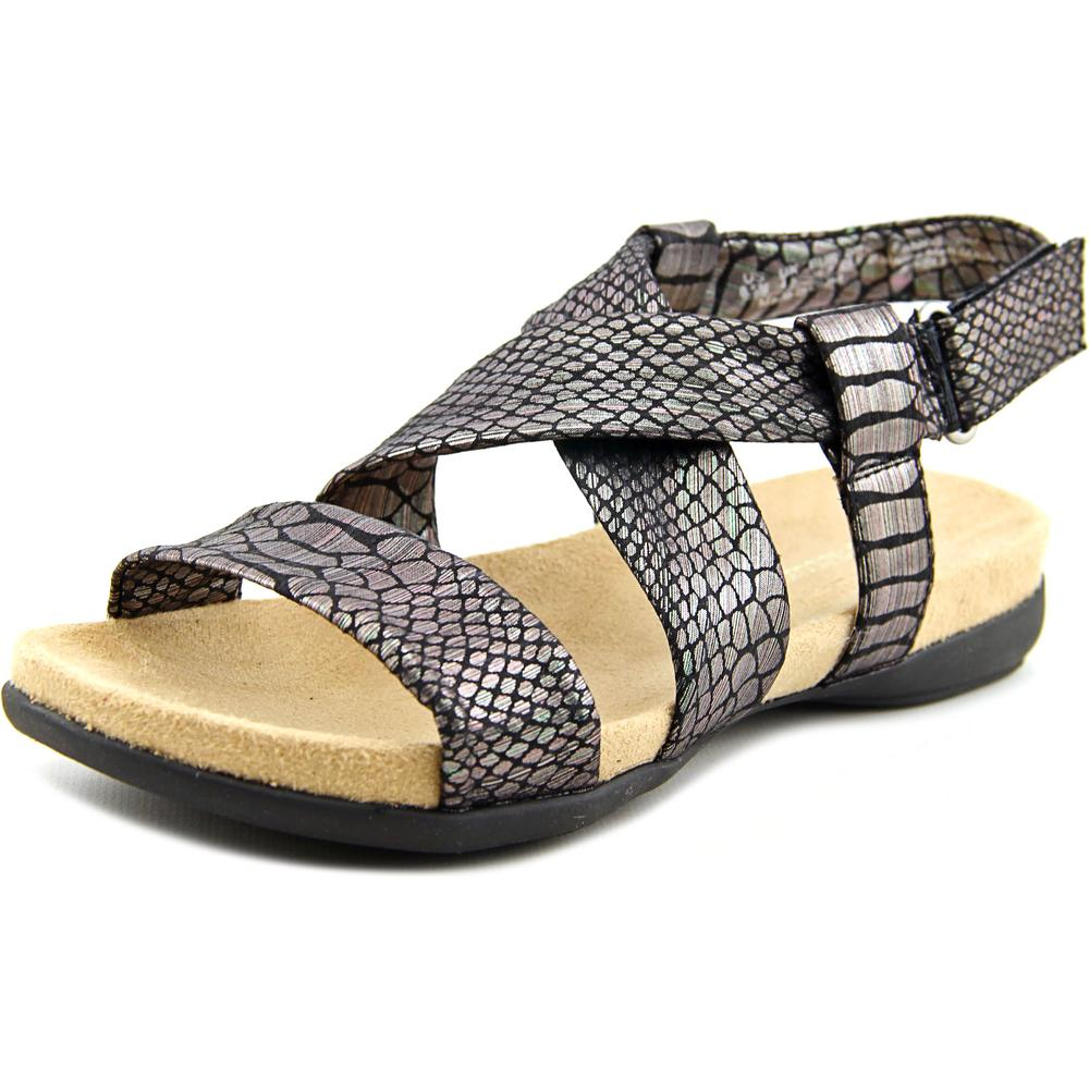 Naturalizer Ainsley Open-Toe Canvas Slingback Sandal by Naturalizer