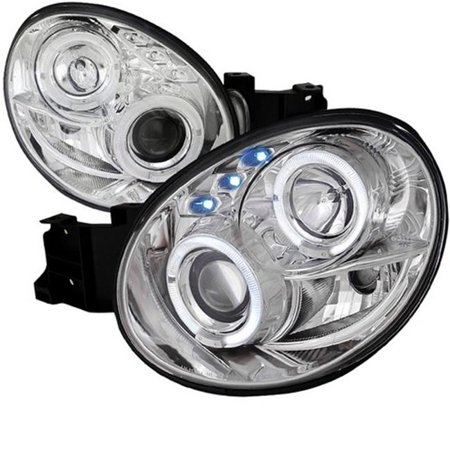 Cobb Tuning Wrx - Spec-D Tuning LHP-WRX02-TM 02-03 Subaru Impreza Projector Headlight for 02 to 03 Subaru WRX, 10 x 19 x 22 in.