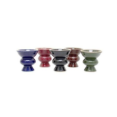 VAPOR HOOKAHS EGYPTIAN STYLE CERAMIC BOWL: SUPPLIES FOR HOOKAHS – These Hookah bowls are accessory pieces for shisha pipes. These accessories parts hold 25g of tobacco. (Green
