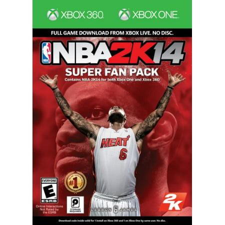 NBA 2K14 Super Fan Pack Take 2 XBOX 360 710425493614