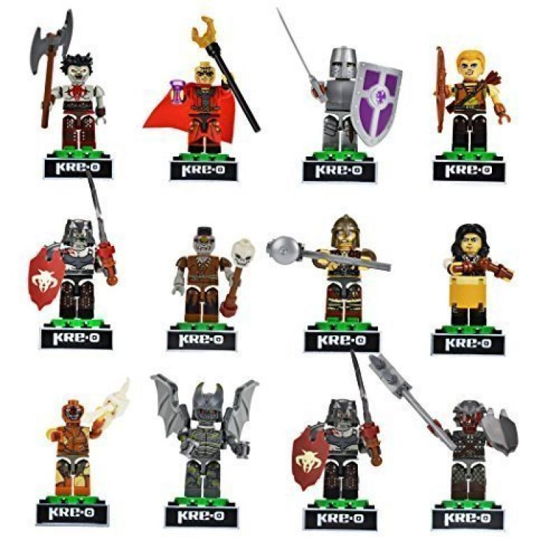 Kre-o Dungeons & Dragons 6 Pack Collection 1