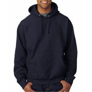 Weatherproof 7700 Adult Cross Weave Hooded Sweatshirt - Navy, XL