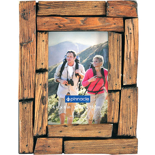 Pinnacle Frame 4x6 Wood Strip Frame