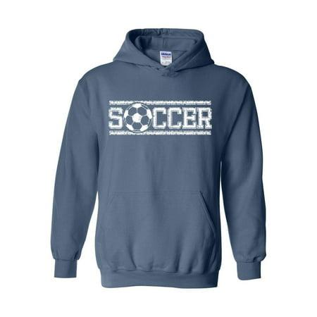 Soccer Unisex Hoodie Hooded Sweatshirt