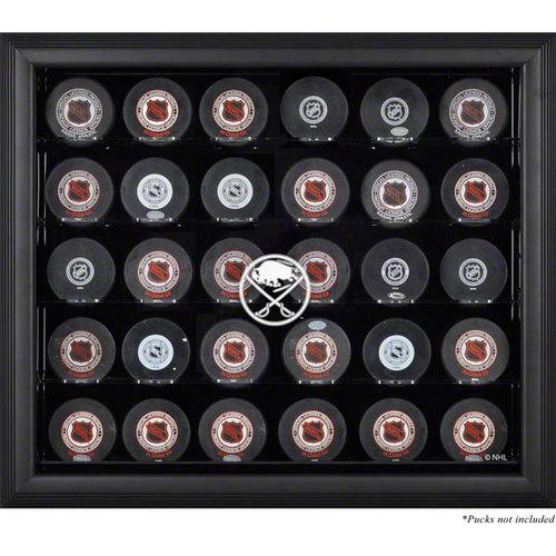 NHL - Buffalo Sabres Framed 30 Hockey Puck Logo Display Case