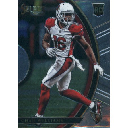 2017 Panini Select #11 Chad Williams Arizona Cardinals Rookie Football - Williams Signed Football