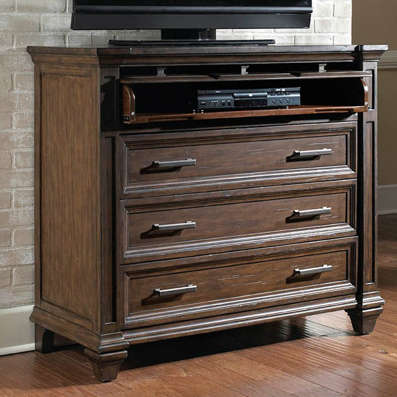 A-America Gallatin 3 Drawer Media Chest by A-America
