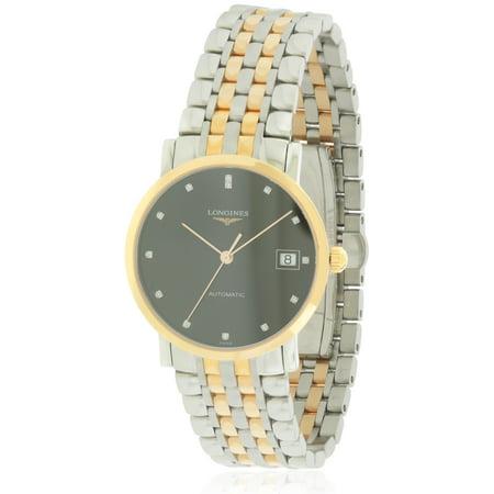Longines Elegant Automatic Two-Tone Unisex Watch L48095577