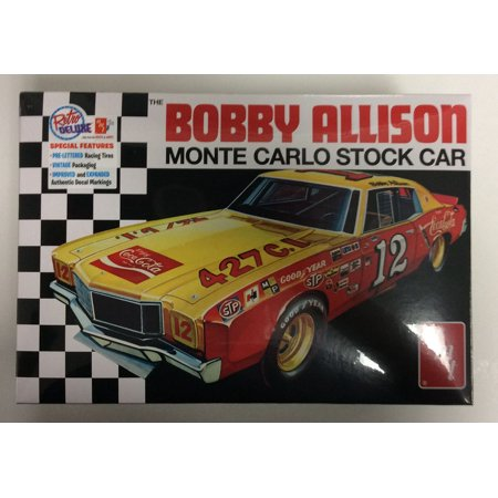 AMT 1064 1:25 Scale Model Kit - Monte Carlo Stock Car Bobby Allison Scale Model Car Parts