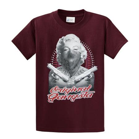 Auto Mart Usa >> Marilyn Monroe T-Shirt Original Gangster - Walmart.com