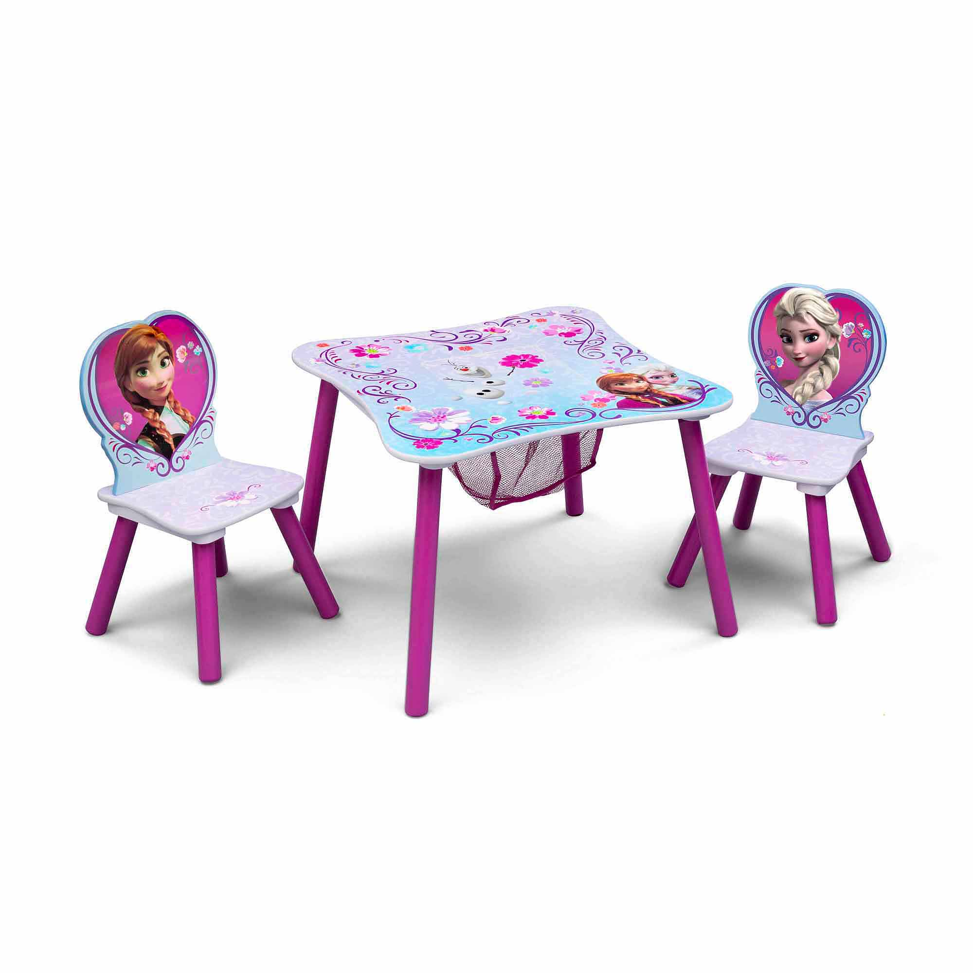 Etonnant Frozen Toddler Table And Chair Set With Storage