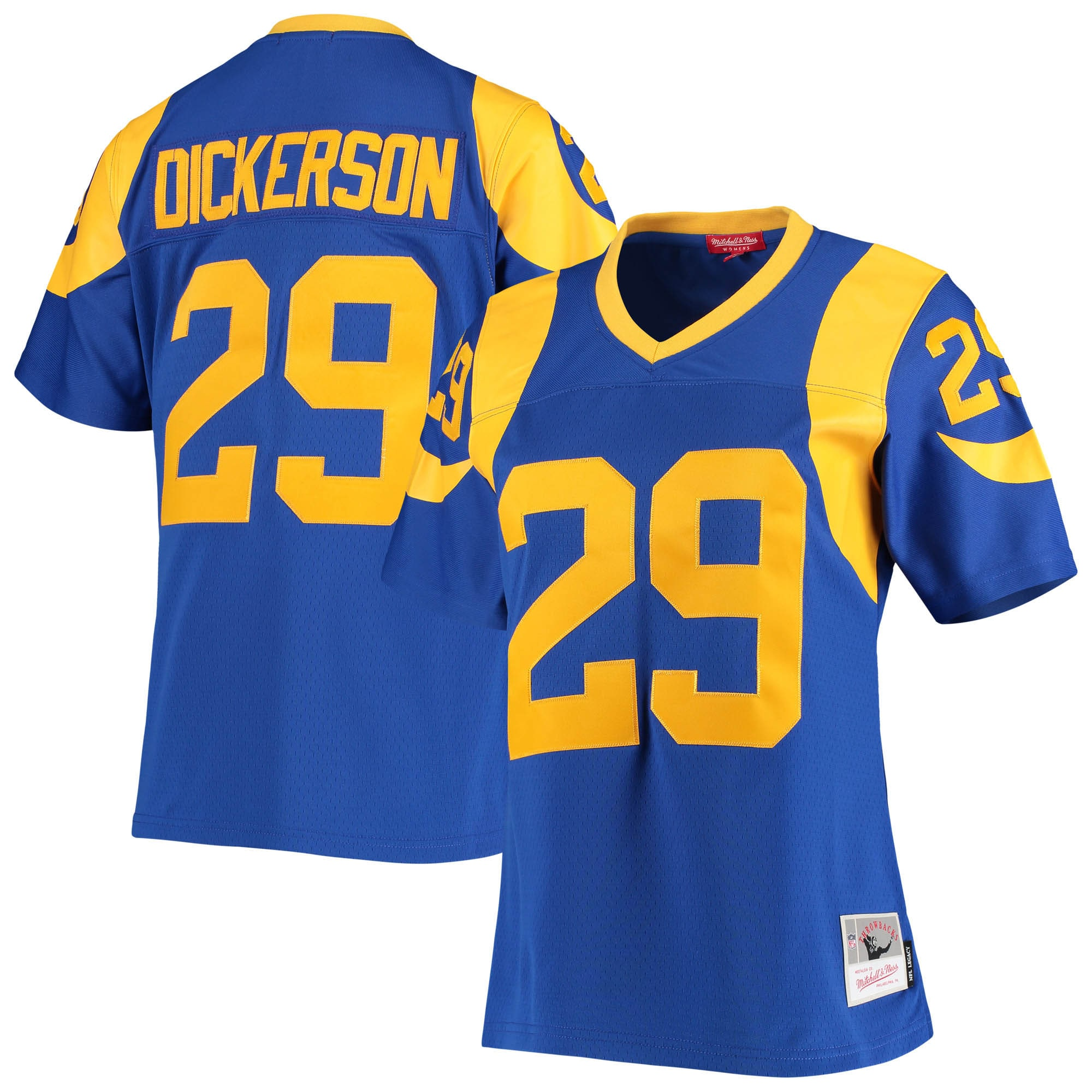 Eric Dickerson Los Angeles Rams Mitchell & Ness Women's Legacy Replica Team Jersey - Royal - Walmart.com