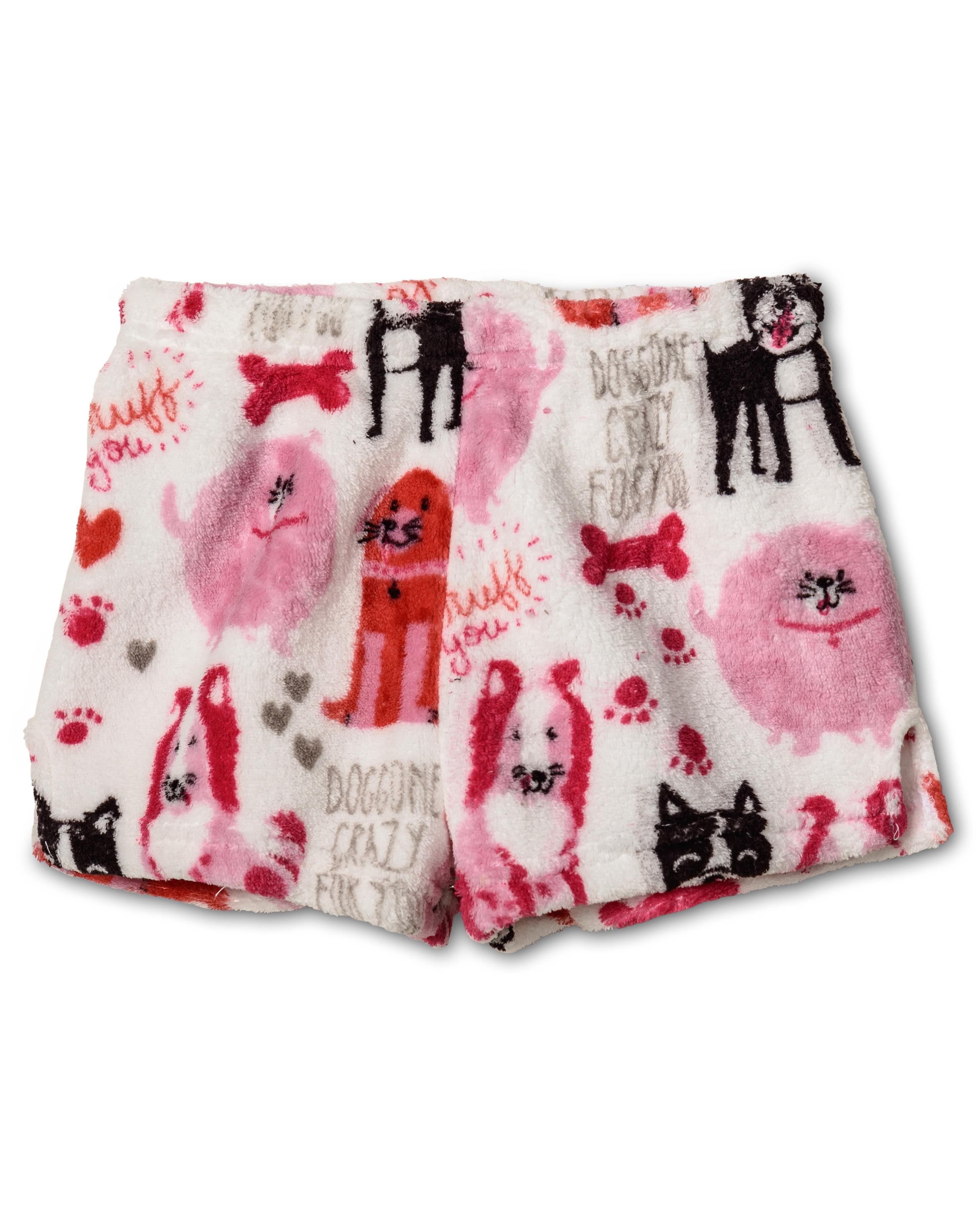 18c9adac93 Up Past 8 - Up Past 8 Plush Pajamas shorts for Girls