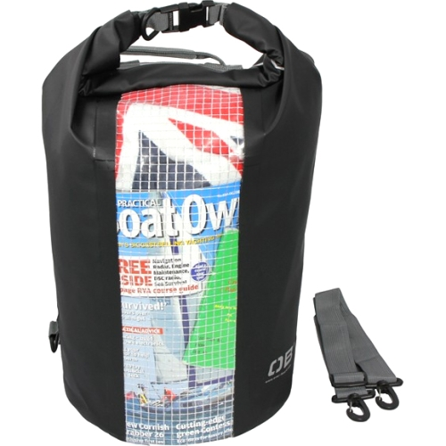 30L Waterproof Dry Tube Bag Black with Window