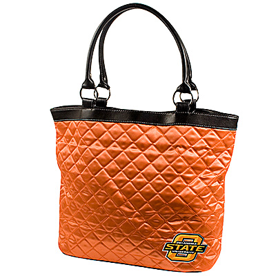 Littlearth Quilted Tote - Oklahoma State University
