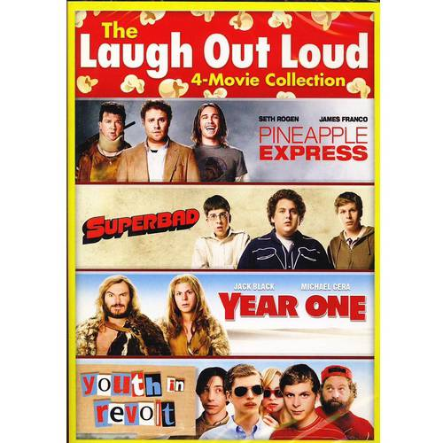 The Laugh Out Loud 4-Movie Collection: Pineapple Express / Superbad / Year One / Youth The Revolt (With INSTAWATCH)