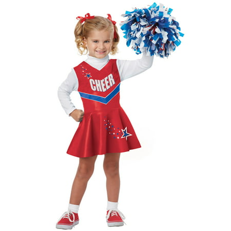 Red Cheerleader Costume (Cheerleader Toddler Costume)