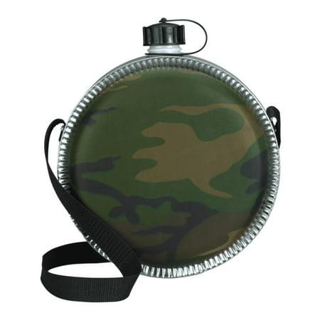 2 Quart Camouflage Desert Style Woodland (Portable Canteen)