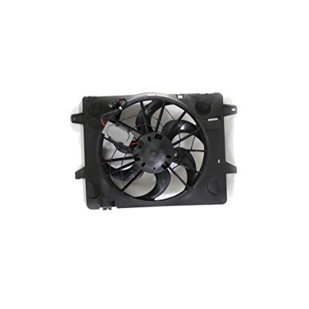 Dual Radiator and Condenser Fan Assembly - Cooling Direct For/Fit FO3115149 03-05 Ford Crown Victoria Grand Marquis Marauder Town Car
