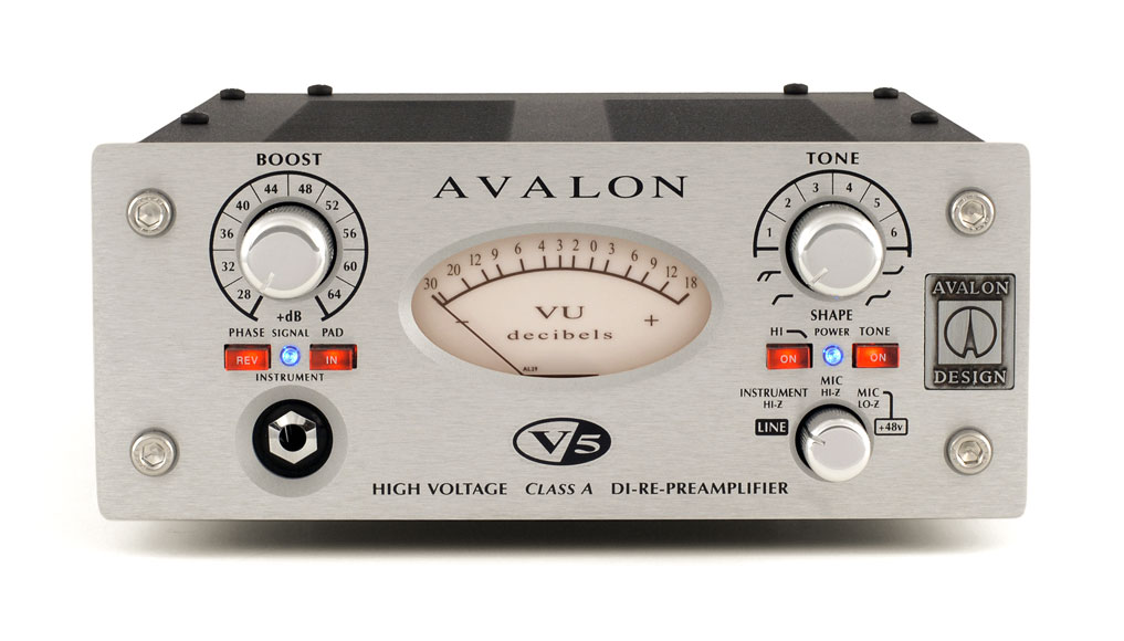 Avalon V5 Pure Class A DI-RE-Microphone Preamplifier by Avalon