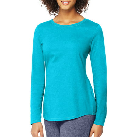 Hanes Women's Long Sleeve T-shirt - Walmart.com