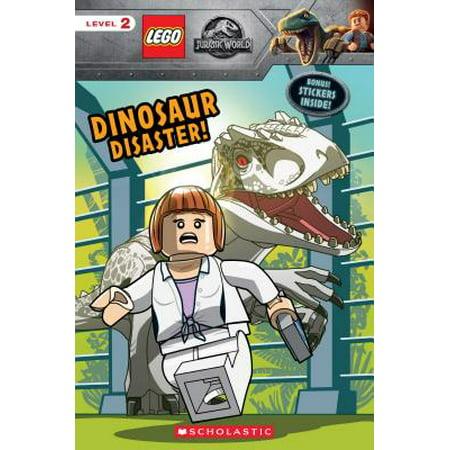 Dinosaur Danger! (Lego Jurassic World: Reader with Stickers)