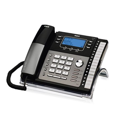 Rca Digital Telephone - RCA ViSYS 25425RE1 4-Line EXP Speakerphone w/ Digital Answering System