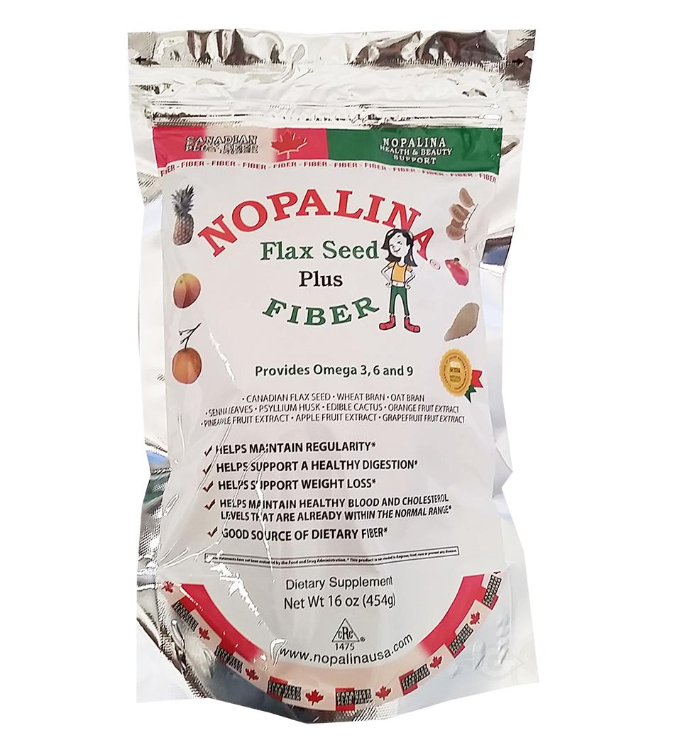 Nopalina Flaxseeds, Omega-3-6-9, 16 Oz