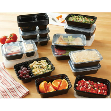 Mainstays 70 Piece with Lids Meal Prep Set
