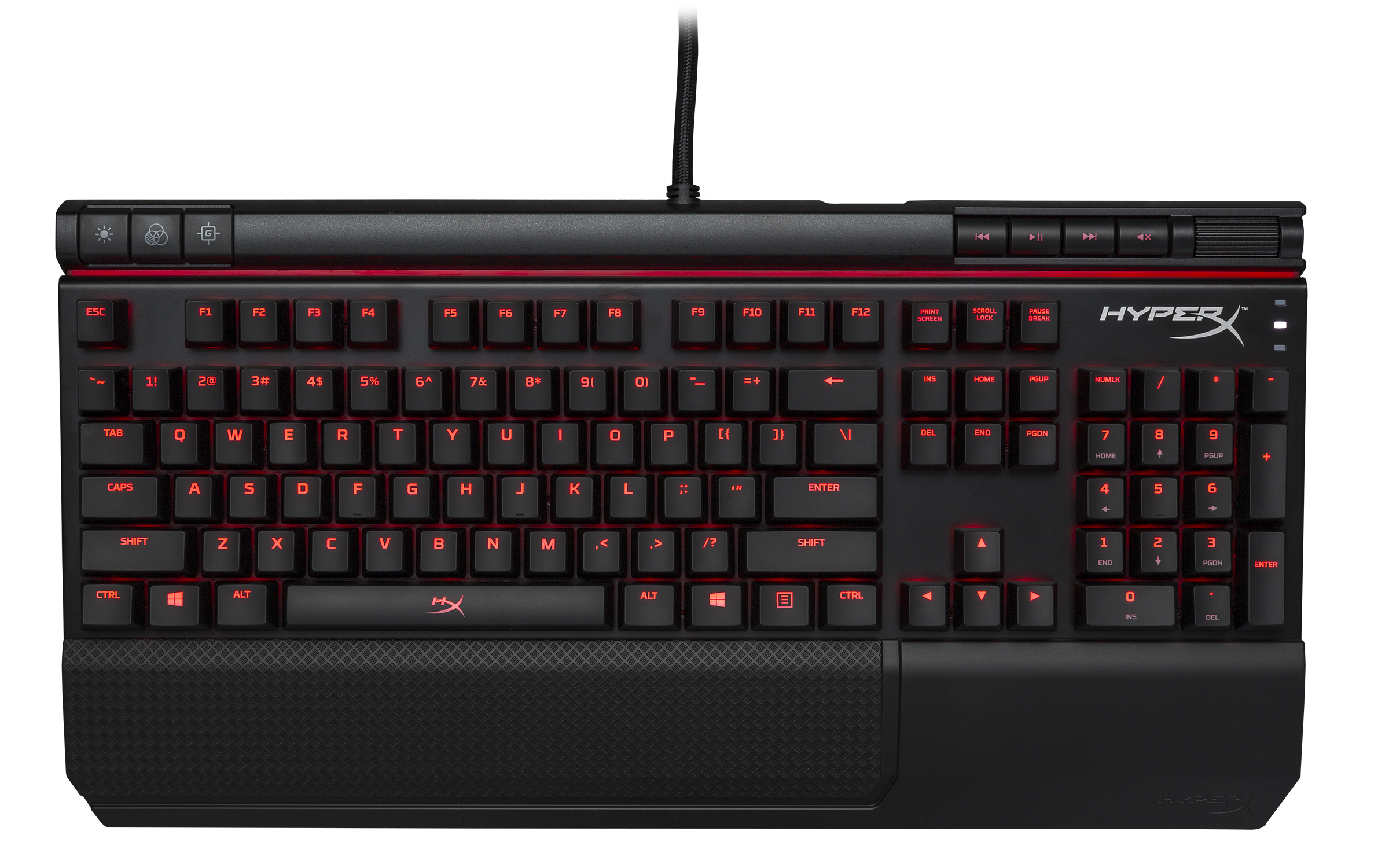 HyperX Alloy Elite Mechanical Gaming Keyboard,MX Red by Kingston Technology