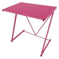 Urban Shop Silver Z Shaped Student Desk