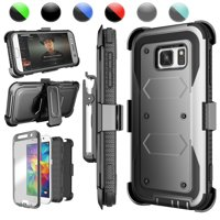 Galaxy S7 Case,Galaxy S7 Sturdy Case, Njjex [Built-in Screen Protector] Shock Absorbing Holster Locking Belt Clip Defender Heavy Case Cover For Samsung Galaxy S7 S VII G930 GS7 All Carriers