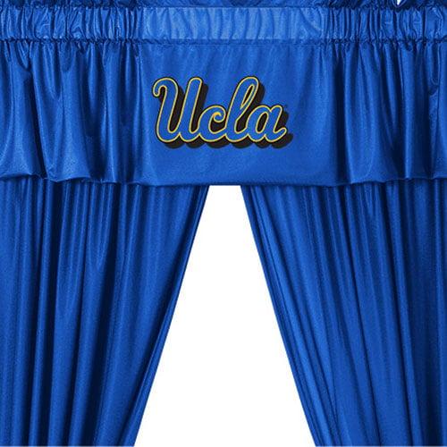 UCLA Bruins Drape Valance Set College Team Logo Window Treatment by Store51 LLC