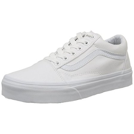 d88e8069eb VANS - Vans Unisex Old Skool True White Skate Shoe 5 Men US   6.5 Women US  - Walmart.com