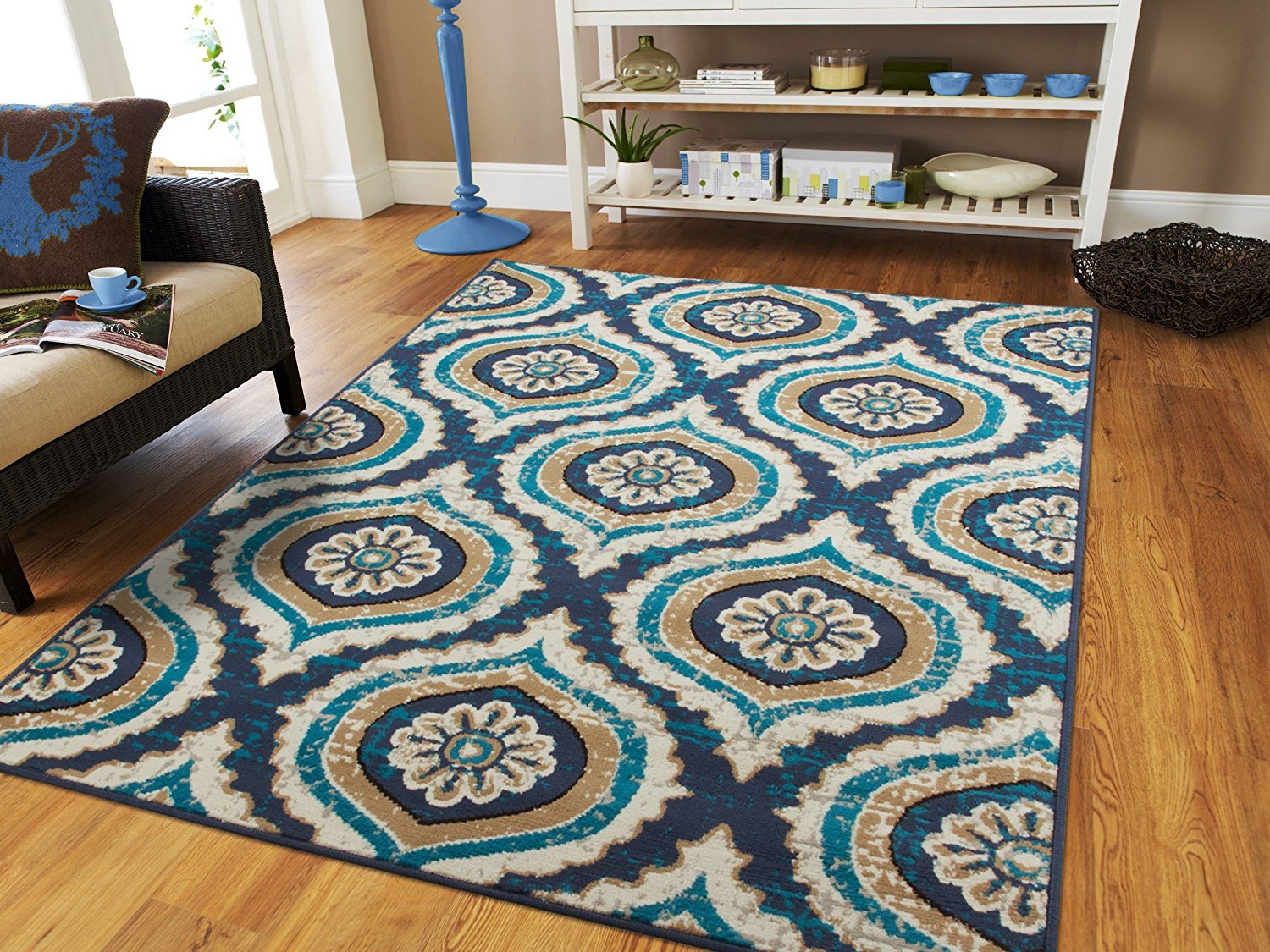 Century Rugs Blue Dining Room Rug For Under The Table 8x10 Contemporary Area  Rugs 8x11 Navy