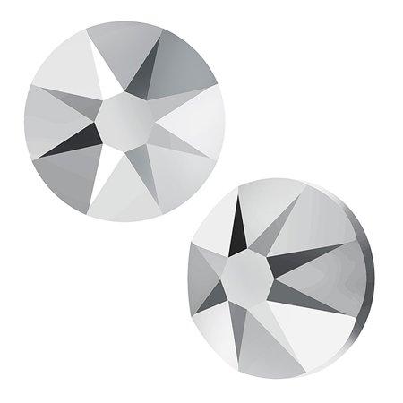 Swarovski Crystal, Round Flatback Rhinestone SS30 6.5mm, 25 Pieces, Crystal Light Chrome F