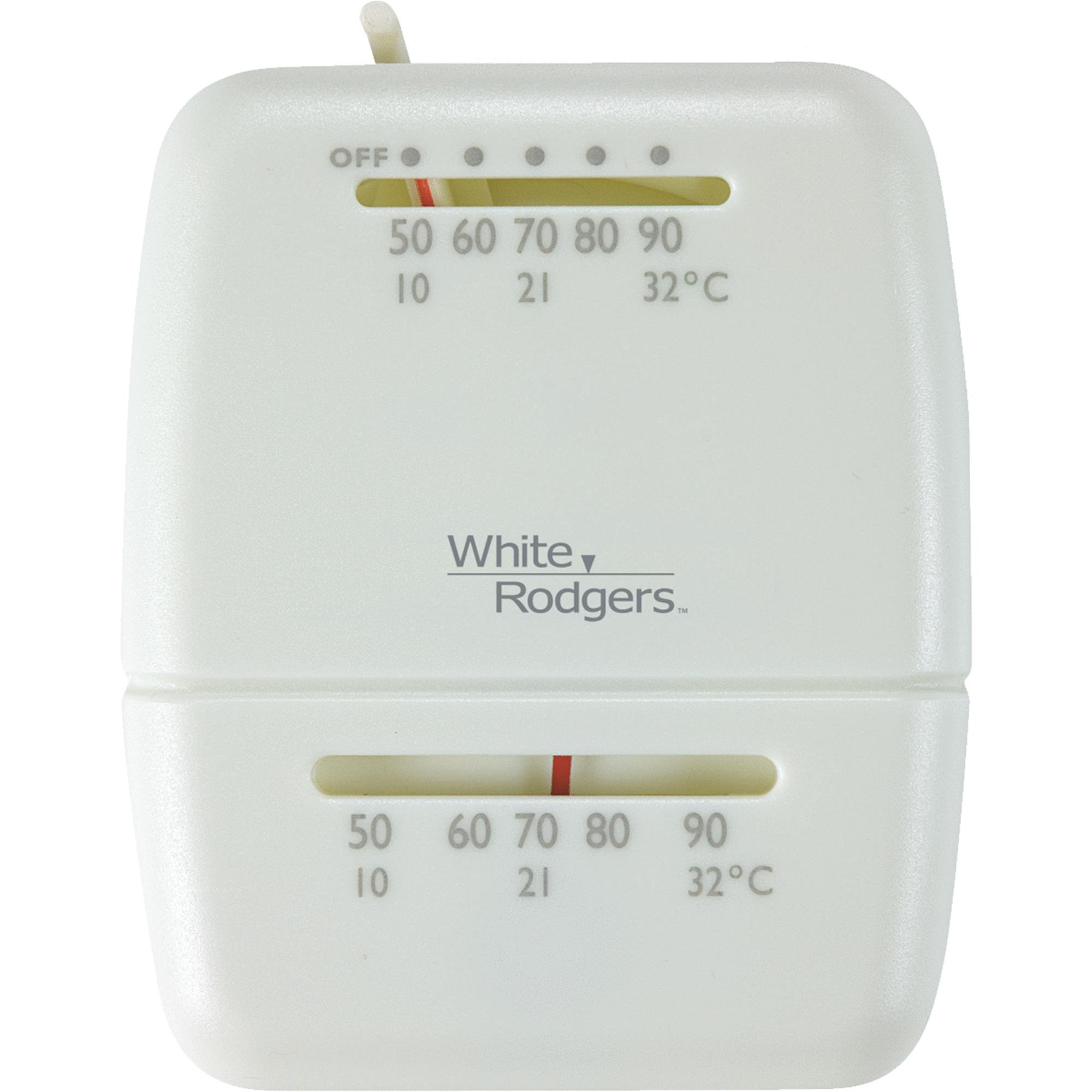 White Rodgers Heat Only Mechanical Thermostat
