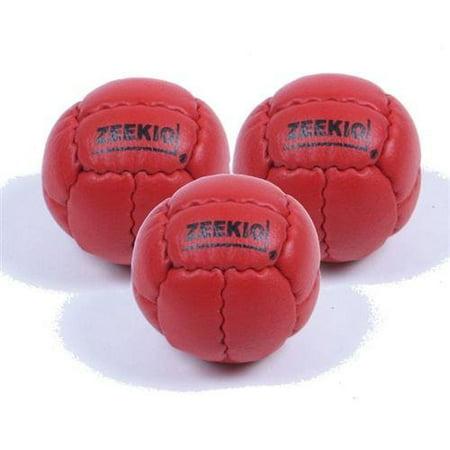 Zeekio Galaxy Juggling Ball Gift Set- 3 Galaxy Juggling Balls-RED](Juggling Set)