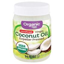 Coconut Oil: Great Value Organic Unrefined Virgin Coconut Oil