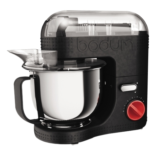 BODUM BISTRO Electric Stand Mixer, 4.7-Liter, 160 Ounce, Black by Bodum
