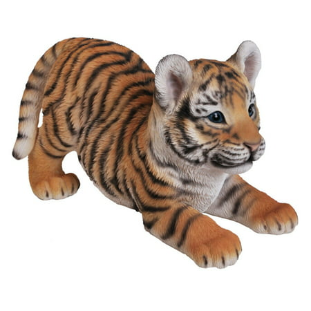 PLAYING TIGER BABY STATUE ()