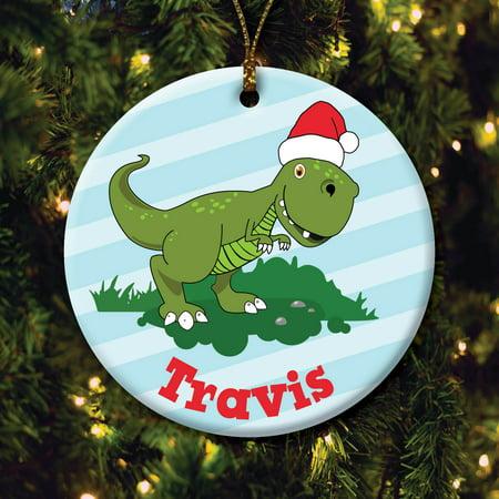 Dinosaur Ornament (Personalized Dinosaur)