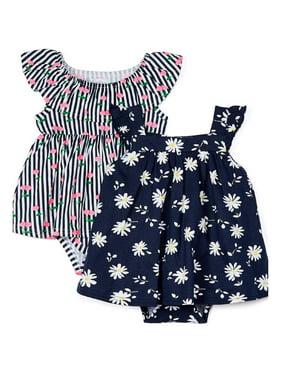Quiltex Baby Girl Dress, 2pk