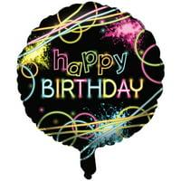 Glow Party Mylar Balloon