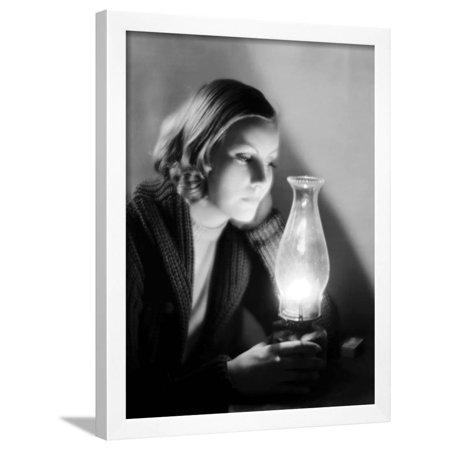 Anna Christie, Greta Garbo, 1930 Framed Print Wall Art
