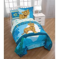Disney's The Lion King Simba Bed in a Bag Kids Bedding Set w/ Reversible Comforter