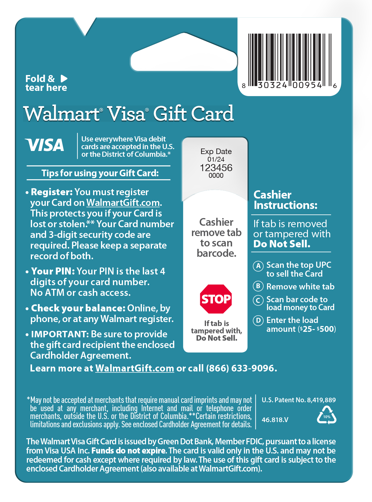 Thank you walmart visa gift card walmart 1betcityfo Images